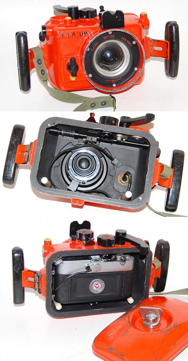 ELCAN Leica UW underwater housing