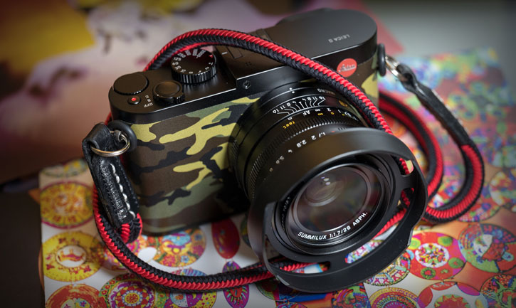 A beautiful limited edition Leica Q from Singapore. Photo by Kingson Lee