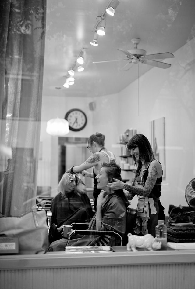 Hairdressers. Leica M 240 with Leica 50mm APO-Summicron-M ASPH f/2.0. © 2016 Thorsten Overgaard.