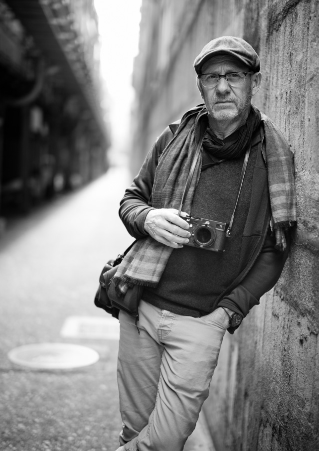 Director Daniel Sackheim in Japan. Leica M-D 262 with Leica 50mm Summilux-M ASPH f/1.4 Black Chrome. © 2016-2017 Thorsten Overgaard.