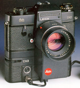 Leica CK2 prototype of auto focus