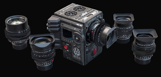 Leica M 0.8 cine lenses with RED camera