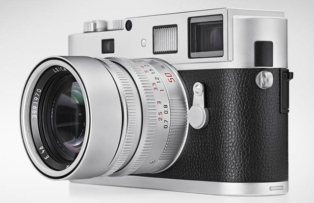 Leica M Monochrom in silver chrome