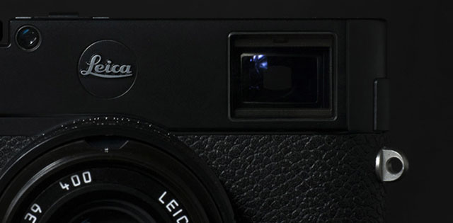 Black Leica Dot