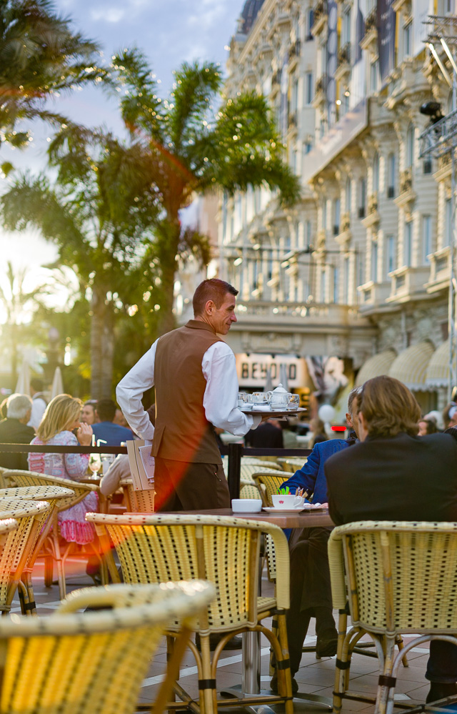Sunset at Cannes Film Festival, Hotel Carlton in Cannes, May 2016. Leica M9 with Leica 50mm APO-Summicron-M ASPH f/2.0. © 2016 Thorsten Overgaard.