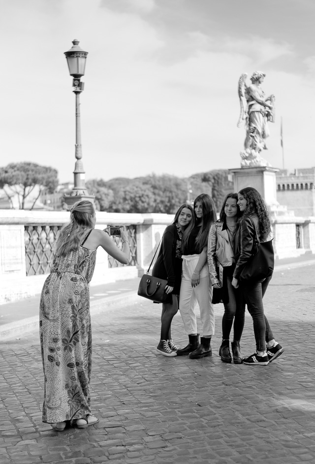 Girls in Rome, Italy. Leica TL2 with Leica 35mm Summilux-TL ASPH f/1.4. © 2017 Thorsten Overgaard.