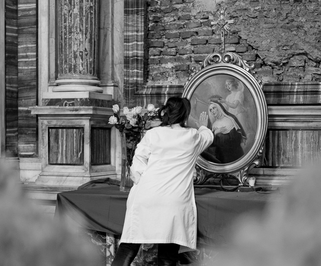 Cleaning in the church. Leica TL2 with Leica 35mm Summilux-TL ASPH f/1.4. © 2017 Thorsten Overgaard.