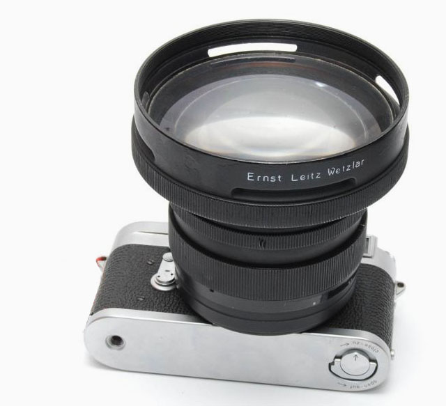 Leitz 75mm Summar f/0.85