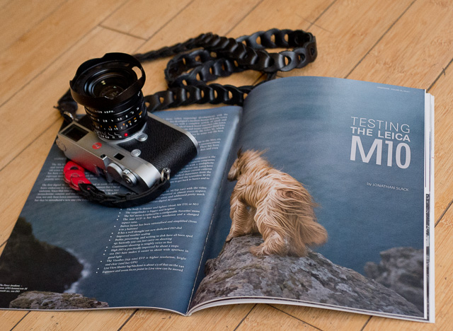 "The ""Viewfinder"" issue contains user report by Jono Slack, interview on the Leica M10 with Leica Camera AG Global Manager Stefan Daniel and Leica M10 Product Manager Jesko Oeynhausen, and more. Sign up for a print membership or digital membership at lhsa.org (Leica Historial Society International)."