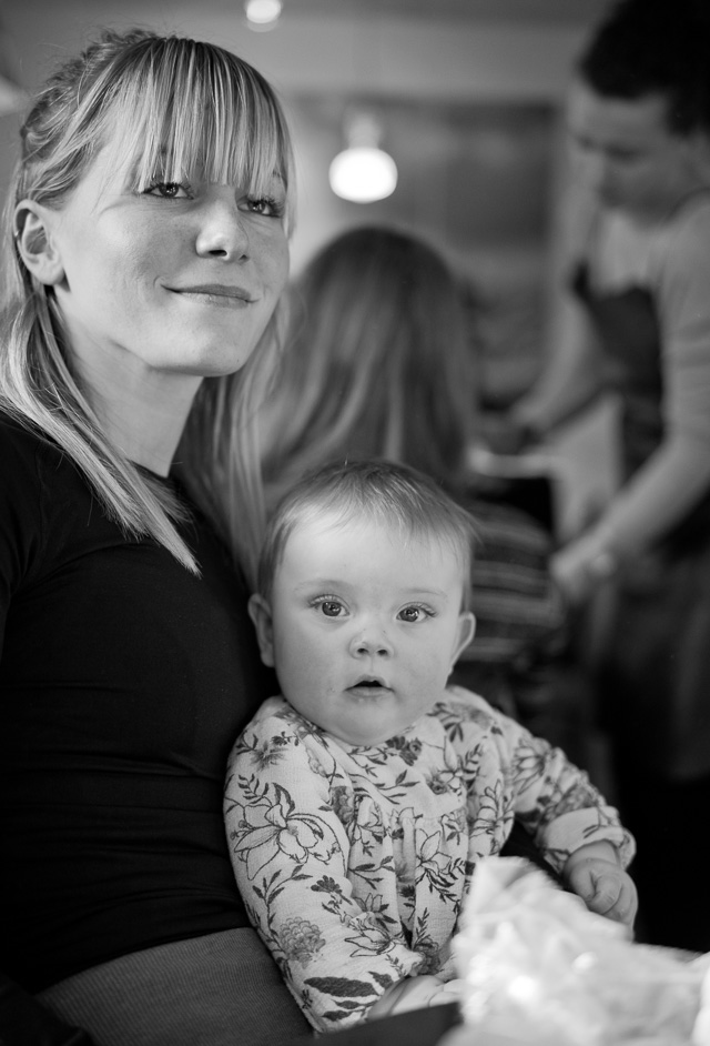 I liked this mother in the La Cabra Coffee Roasters in Aarhus, Denmark and asked if I could take a photo. It turned out the child wasn't hers, but we agreed to keep pretending it was, for the sake of the picture. Leica M10 with Leica 50mm APO-Summicron-M ASPH f/2.0. © 2017 Thorsten Overgaard.