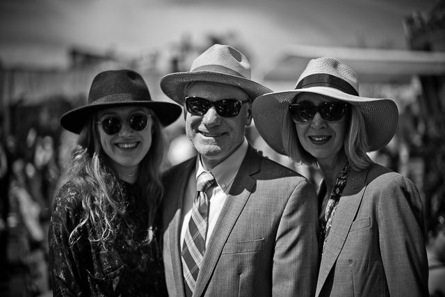 It's not often you meet a really cool loking person in suit and hat in sunny Los Angeles (where the fashion scene mostly consist of t-shirt and shorts). Meeting a whole family is almost unlikely, unless in the case of the Meskimen family. Leica M10 with Leica 50mm Noctilux-M ASPH f/0.95 FLE. © 2017 Thorsten Overgaard.