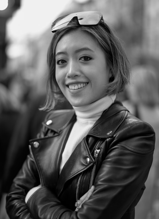 Anya in London. Leica M10-P with Leica 50mm Summilux-M ASPH f/1.4 BC. © Thorsten Overgaard.