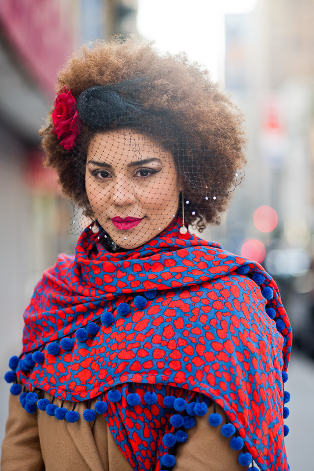 Joy Villa in my Thorsten von Overgaard Portrait Workshop in New York. Leica M10 with Leica 90mm APO-summicron-< ASPH f/2.0.