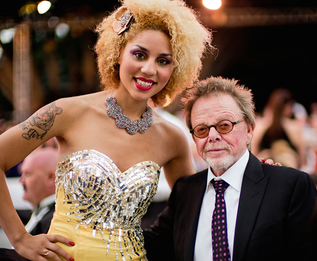 "Joy Villa with composer Paul Willams (""Love Is All Around"", ""Rainbow Connection"" and many other), President of ASCAP. He's also the one singing on ""Touch"" with Daft Punk."