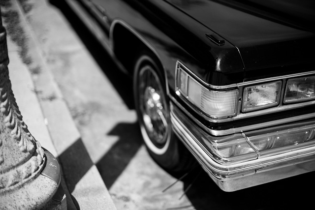 My ride in Hollywood. Leica M 240 with Leica 50mm Noctilux-M ASPH f/0.95