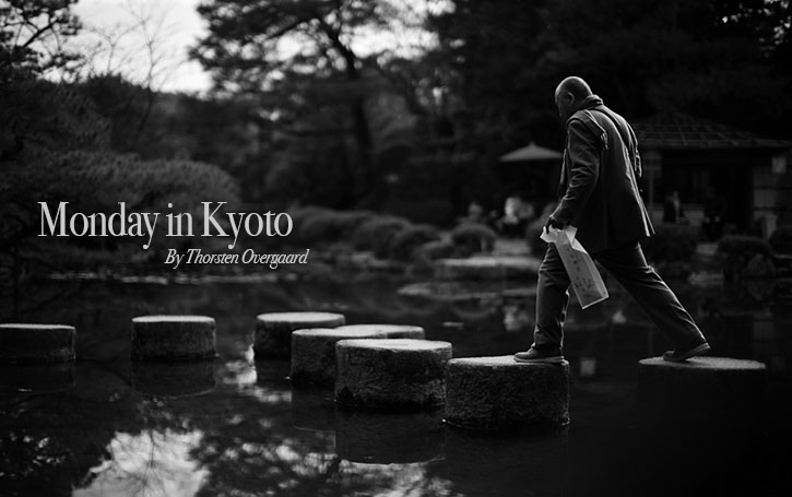 Monday in Kyoto
