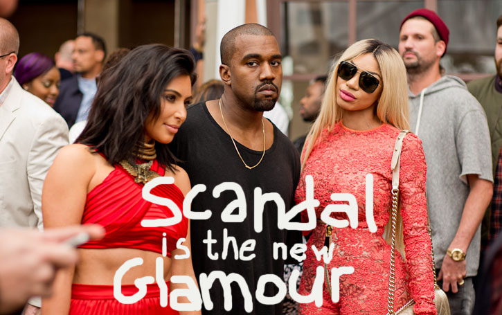 "The Story Behind that Picture - ""Scandal is the New Glamour"""