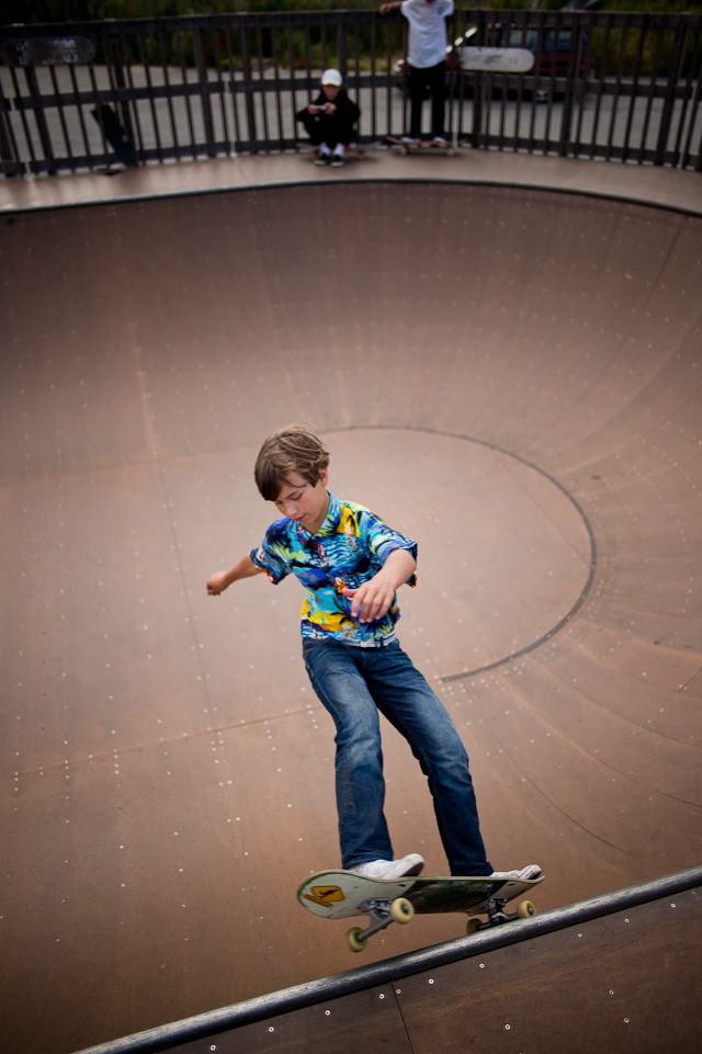Young skater at Godsbanen in Aarhus, Denmark. Leica M 240 with Leica 28mm Summilux-M ASPH f/1.4at f/1.4. © 2015-2016 Thorsten Overgaard.
