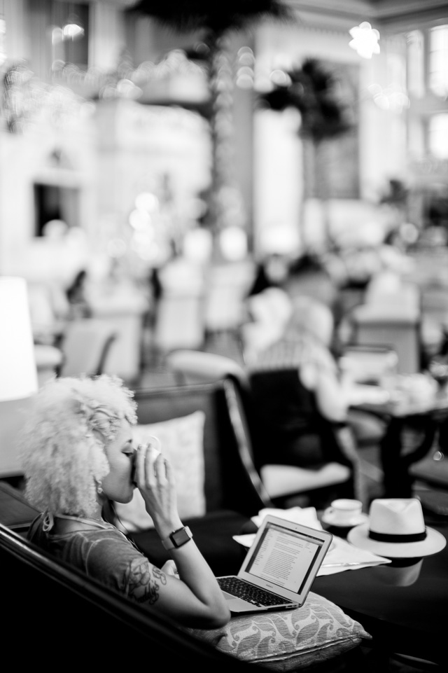 The Manila visit is our first and gave us a day off to handle e-mail and more. Here we're in the center of the APEC at The Peninsula Hotel. Leica M 240 with Leica 50mm Noctilux-M ASPH f/0.95.