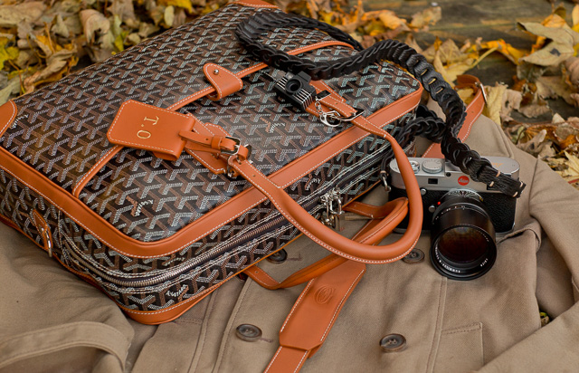 Goyard Ambassade camera bag by Thorsten Overgaard