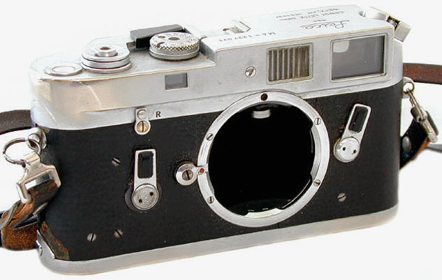 The Leica M4 of Garry Winogrand