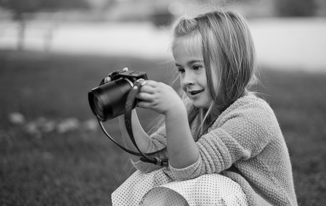 Be aware that the larger the lens, the more front-heavy the Leica TL2 becomes for children. Get the 23mm for smaller children.