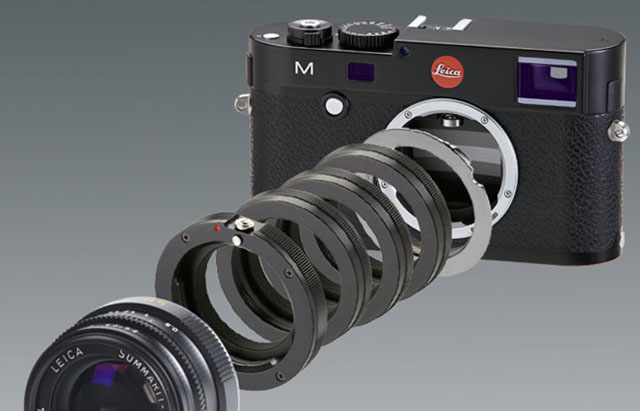 Novoflex tube set for Leica M macro photography