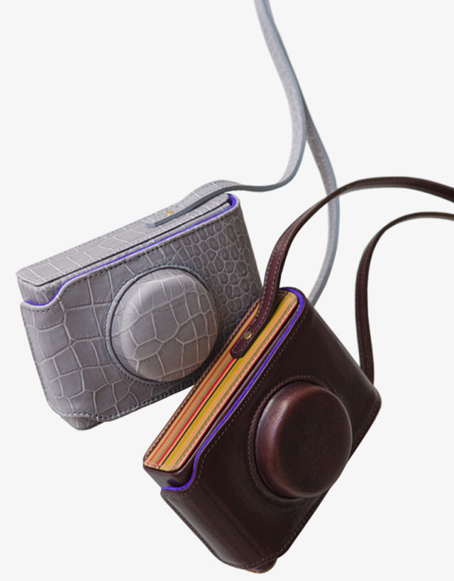 Paul Smith and Leica Camera AG limited edition Leica D-Lux 5 leather cases for Christmas 2011
