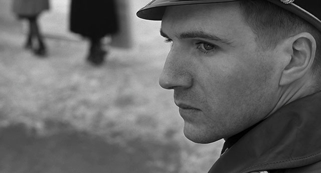 Perfect skin tone, and a bit of pin light in the eye. Schindler's List (1993, directed by Steven Spielberg, cinematography by Janusz Kaminski).