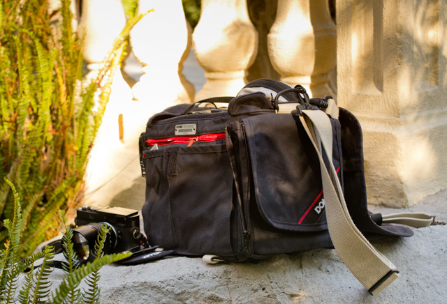 DOMKE The Chronicle RuggedWear Black shoulder camera bag (from their The Journalist Series) is a huge bag with lots of space, extra pockets and made to last a lifetime. Only $280 at Amazon.