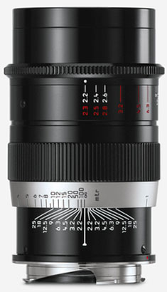 Further down: The new 2017 remake of the Thambar, the Leiac 90mm Thambar-M f.2.2.