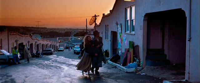 "A scene from Wim Wenders ""Until the End of the World"", 1991."