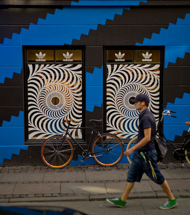 adidas Originals outlet store in Copenhagen