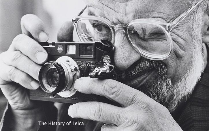 "Allen Ginsberg with his Leica ... Read ""The story of the Leica camera"" by Thorsten von Overgaard."