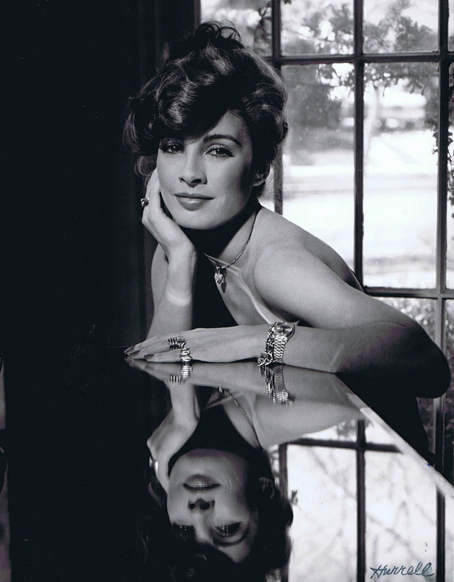 Anne Archer photographed by George Hurell in 1977