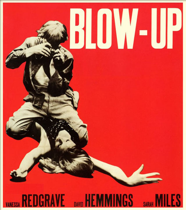 "The famous movie ""Blow-Up""."