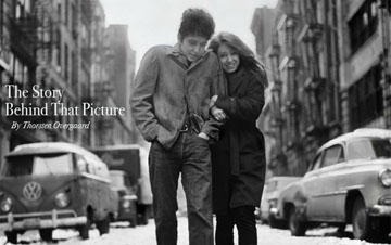 """Don Hunsteins Freewheelin' Bob Dylan Photograph"