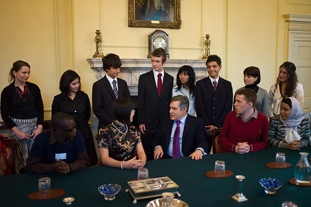 Prime Minister Gordon Brown, London 2010. Leica M9 with 28mm Summicron-M ASPH f/2.0.