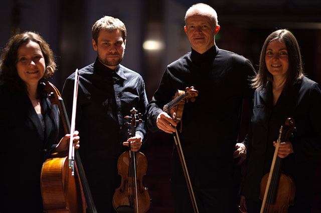 Zehetmair Quartet, Wigmore Hall, London. Canon 5D Mark II with 85mm USM L f/1.2s