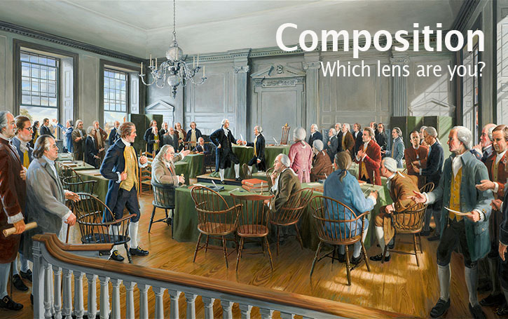 The Story Behind That Picture 186 - Composition in Photography: Which lens are you?