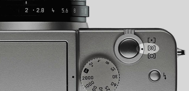 multiple field metering mode on the Leica Digilux 2