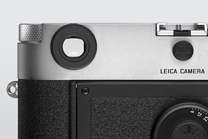 a Leica M with a original Leica diopter mounted on the viewfinder