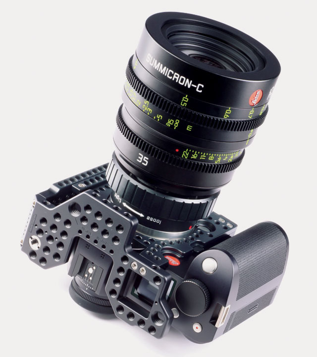 Leica SL 601 with Full Metal Jacket MJ_H1 adapter for Leica Cine lenses