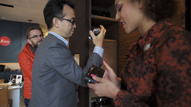 Visiting the Leica Store in Ginza, Tokyo. © 2012 Thorsten Overgaard.