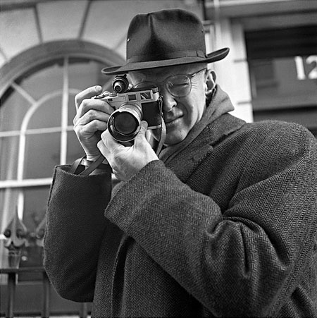Henri Cartier Bresson by Jane Brown (1957)
