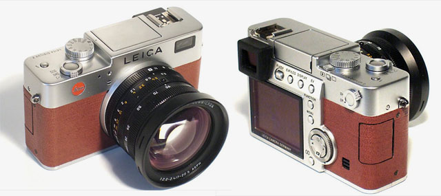 John Thawley's brown leater Leica Digilux 2 edition