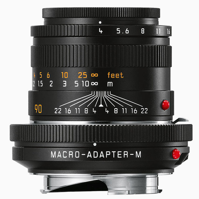 The current macro kit consisting of the excellent 90mm Macro-Elmar-M f/4.0 and the Macro-Adapter-M. The kit sells for a little less than $4,000 while the adapter itself without lens is $695.