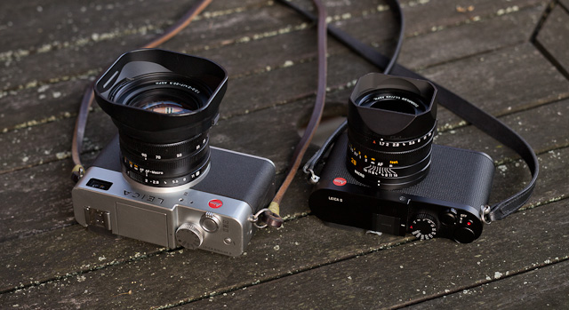 Leiac Digilux 2 and the Leica Q