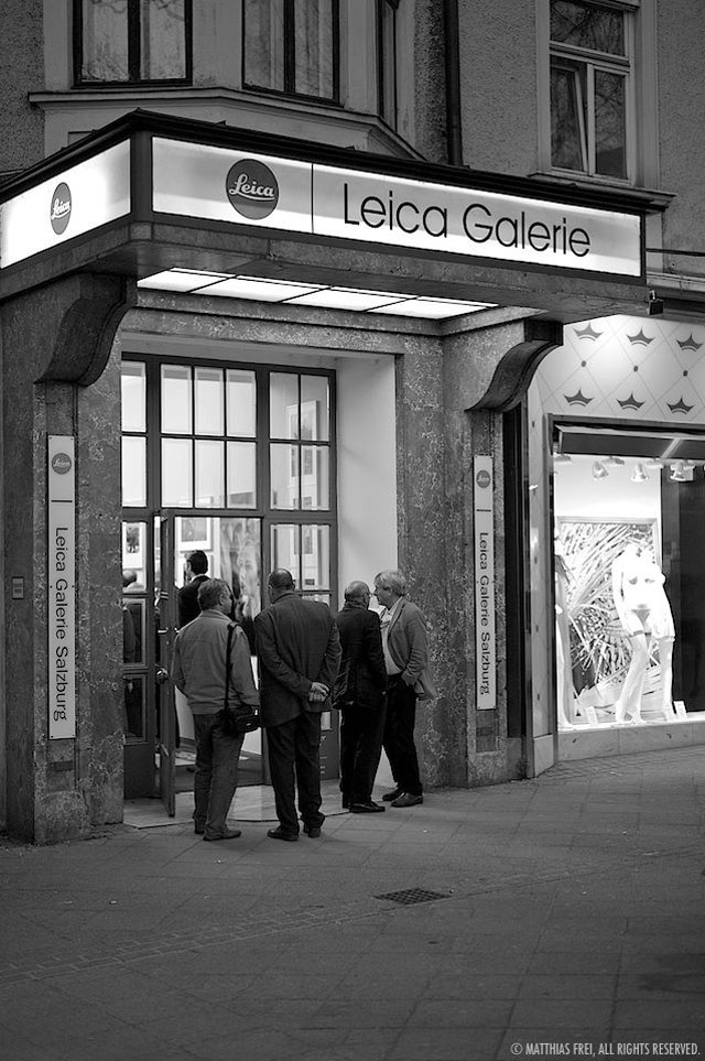 Leica Galerie salzburg by Matthias Frei