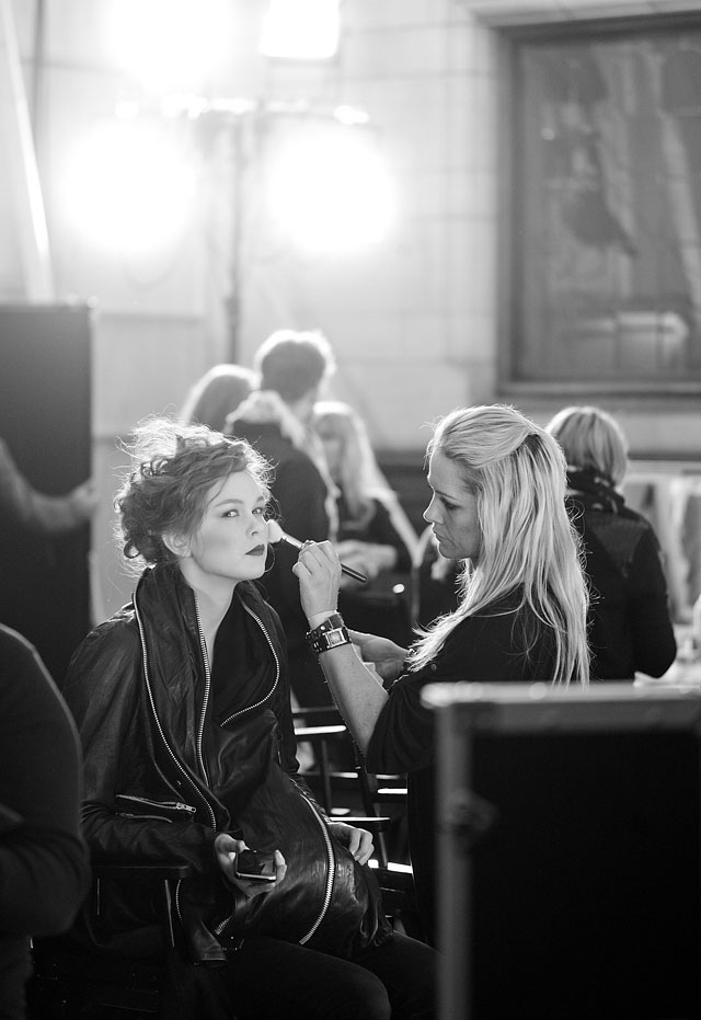 Fashion Week Backstage Leica M9 review and test photos